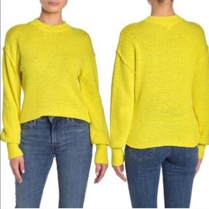 Abound Drop Shoulder Knit yellow Sweater